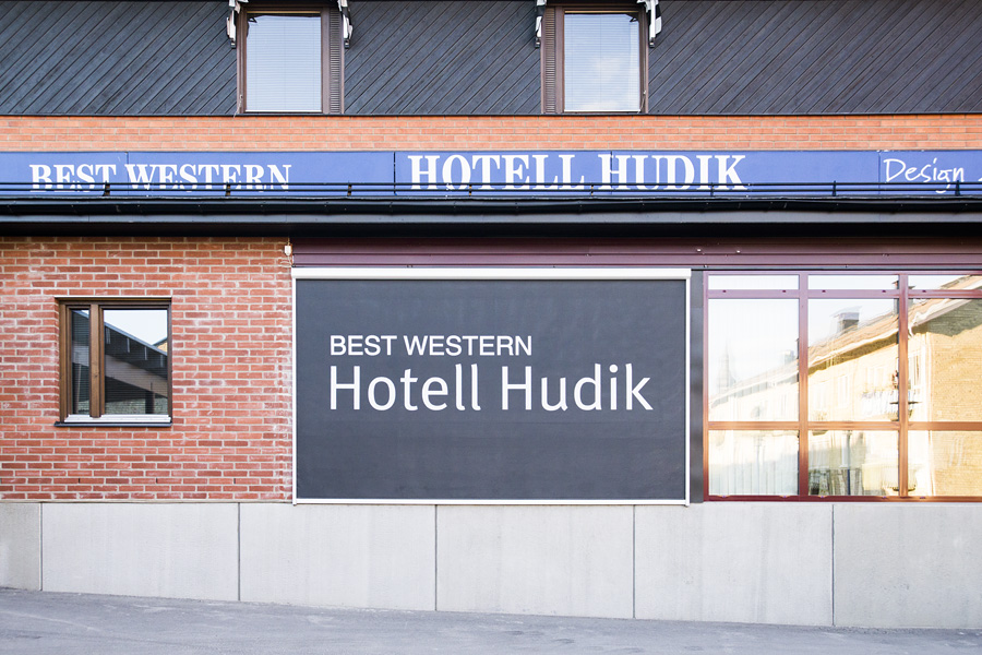 Screenväv, Best Western Hotell Hudik